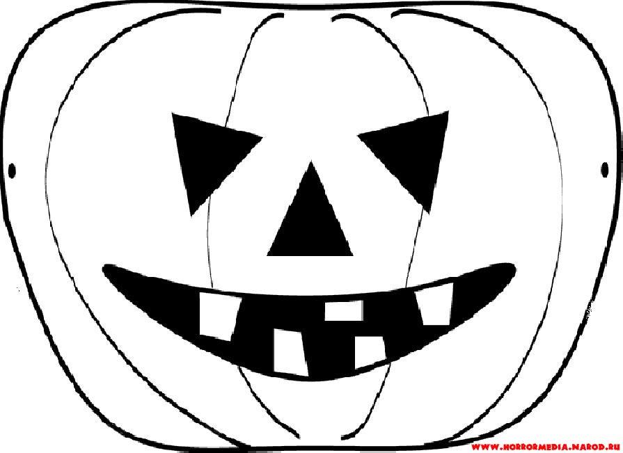 Маска хэллоуин своими руками